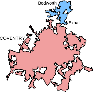 Coventry Map