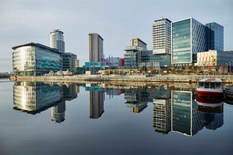 The revolution of Salford Quays