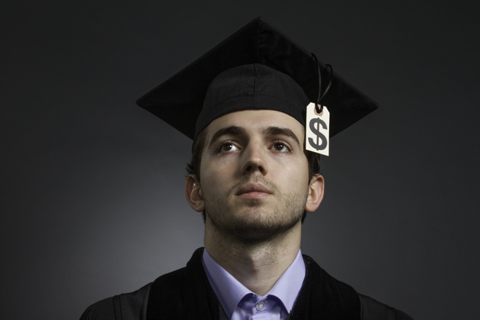 The rising cost of being a student